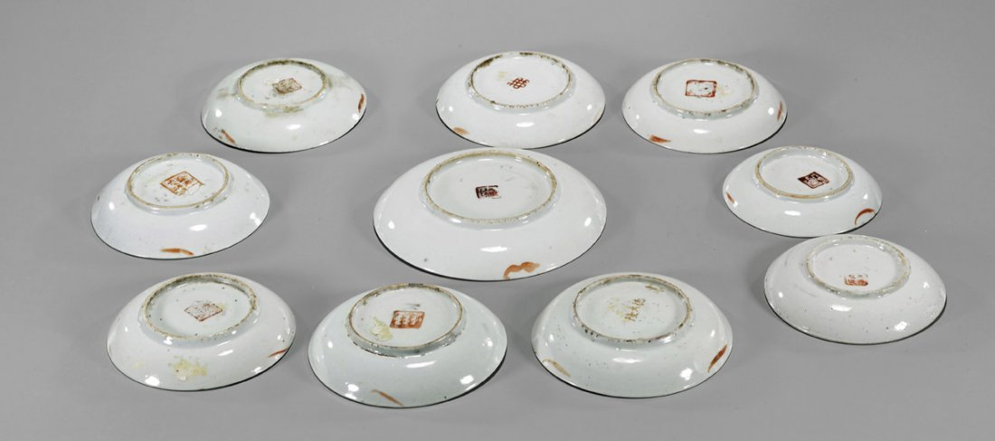 Ten Antique Chinese Porcelain Dishes - 2