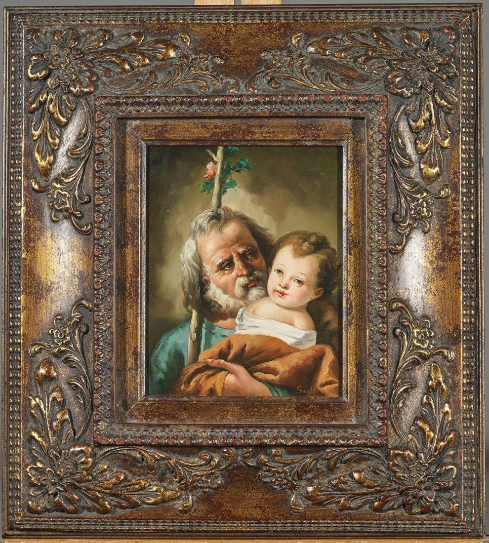 Three Old Master-Style Portraits - 3
