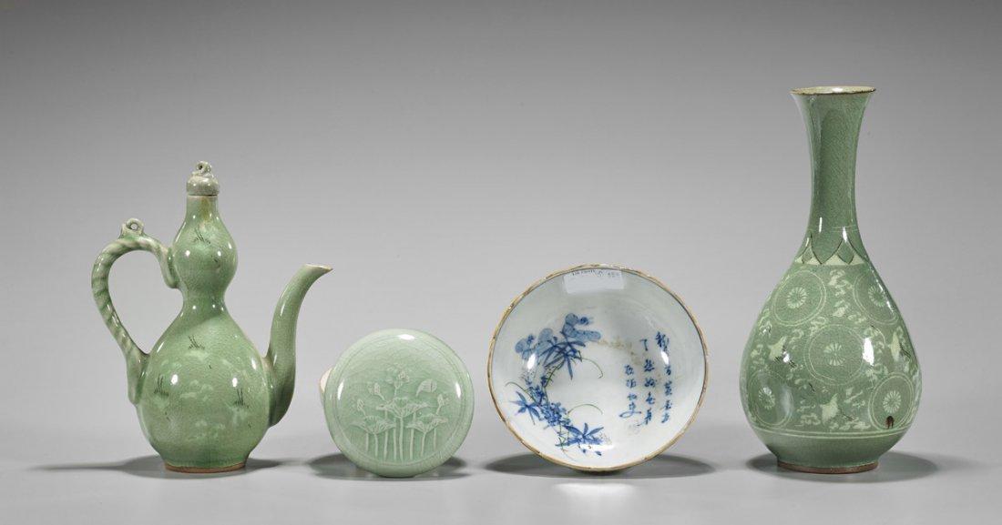 Four Korean Glazed Ceramics - 2
