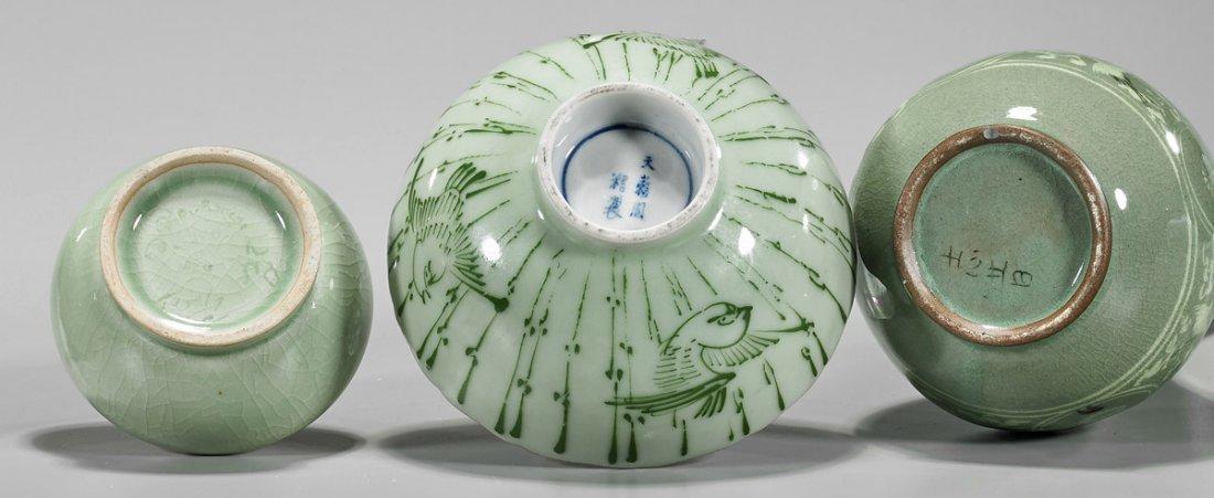 Four Korean Glazed Ceramics - 3