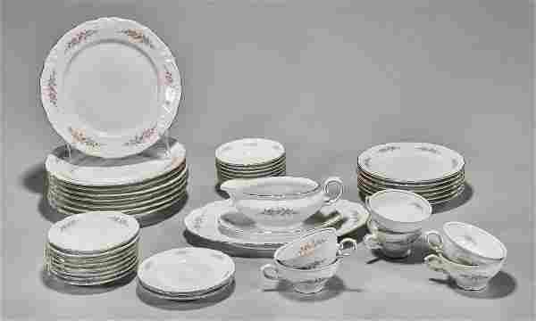 Forty-One German Winterling Porcelain Dinner Set