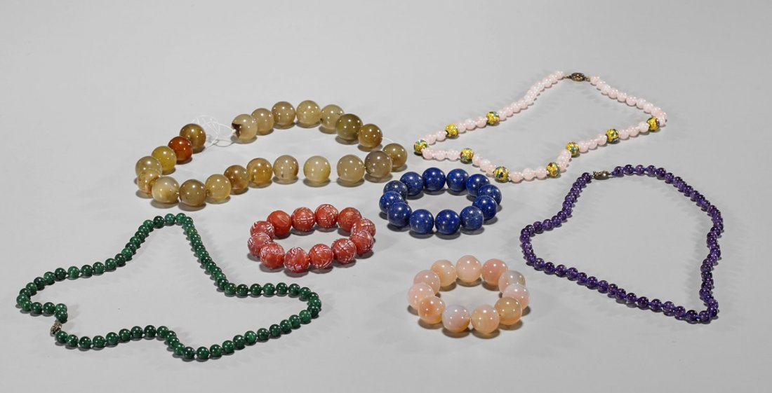 Group of Various Beaded Jewelry Pieces
