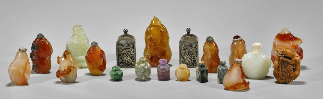 Collection of Twenty Assorted Snuff Bottles
