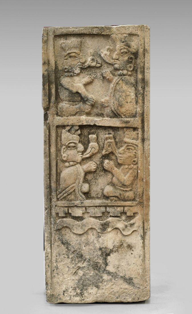 Pre-Columbian Style Stone Stele
