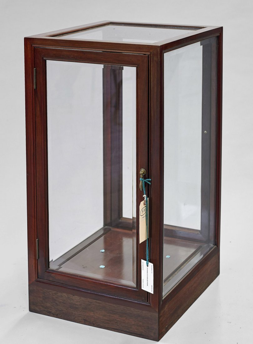Large Wood & Glass Display Case