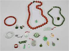 Group of Various Chinese Jewelry Items