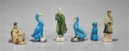 Six Various Chinese Ceramic Items