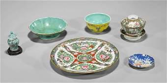 Six Chinese & Singaporean Porcelains