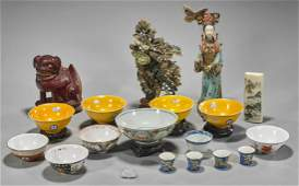 Collection of Nineteen Various Chinese Items