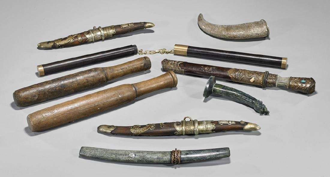 Group of Chinese Weapons