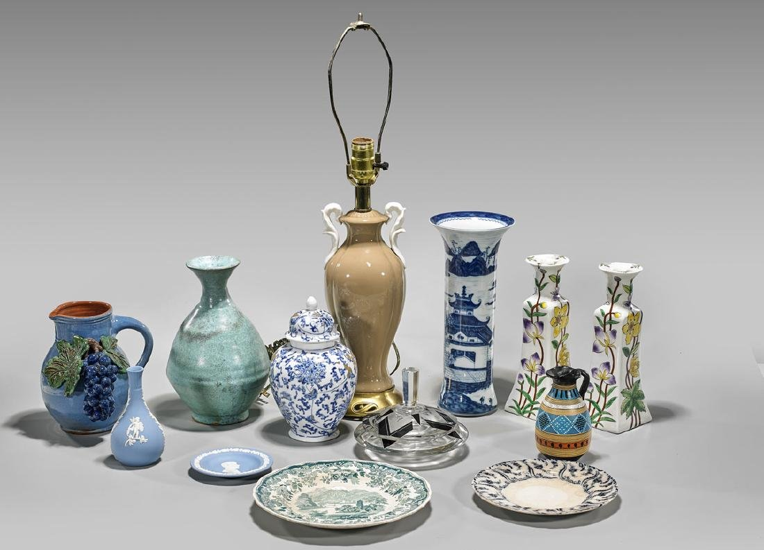 Collection of Ceramic & Glass Items