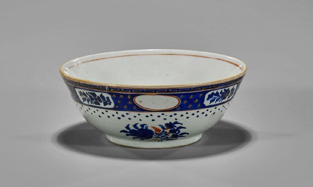 18th Century Export Porcelain Bowl