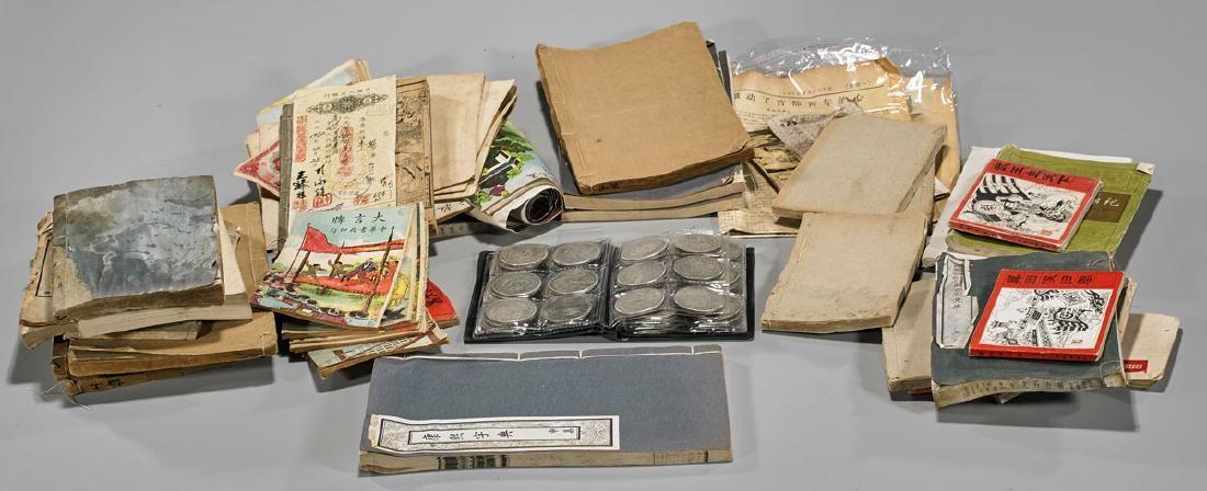 Collection of Chinese Books, Memorabilia & Ephemera