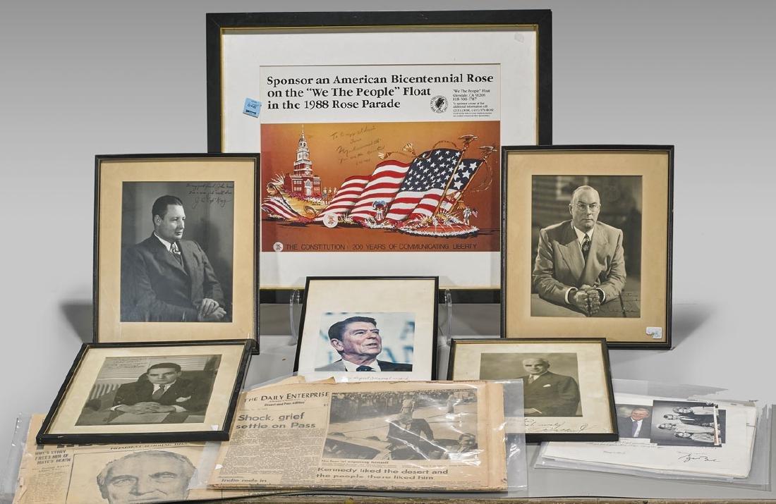 Collection of American Political Memorabilia