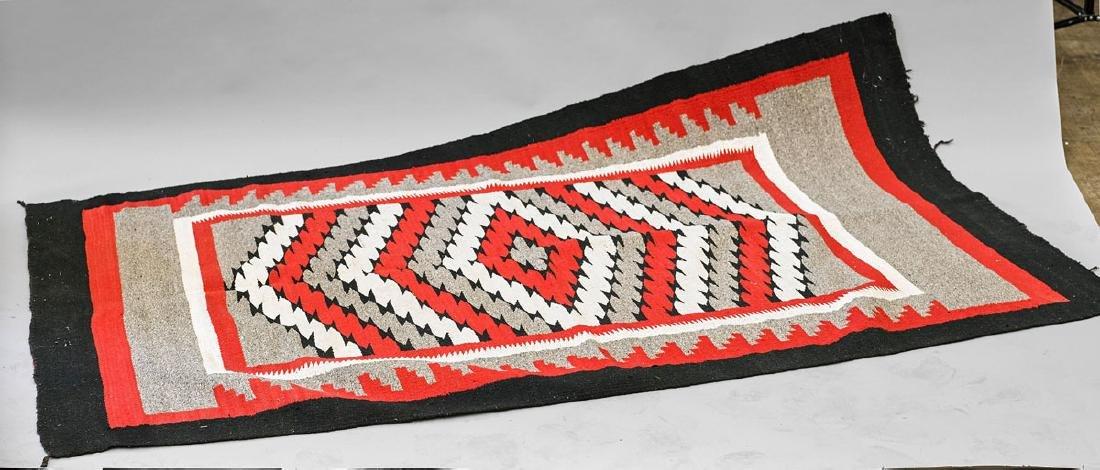 Old Navajo Wool Rug