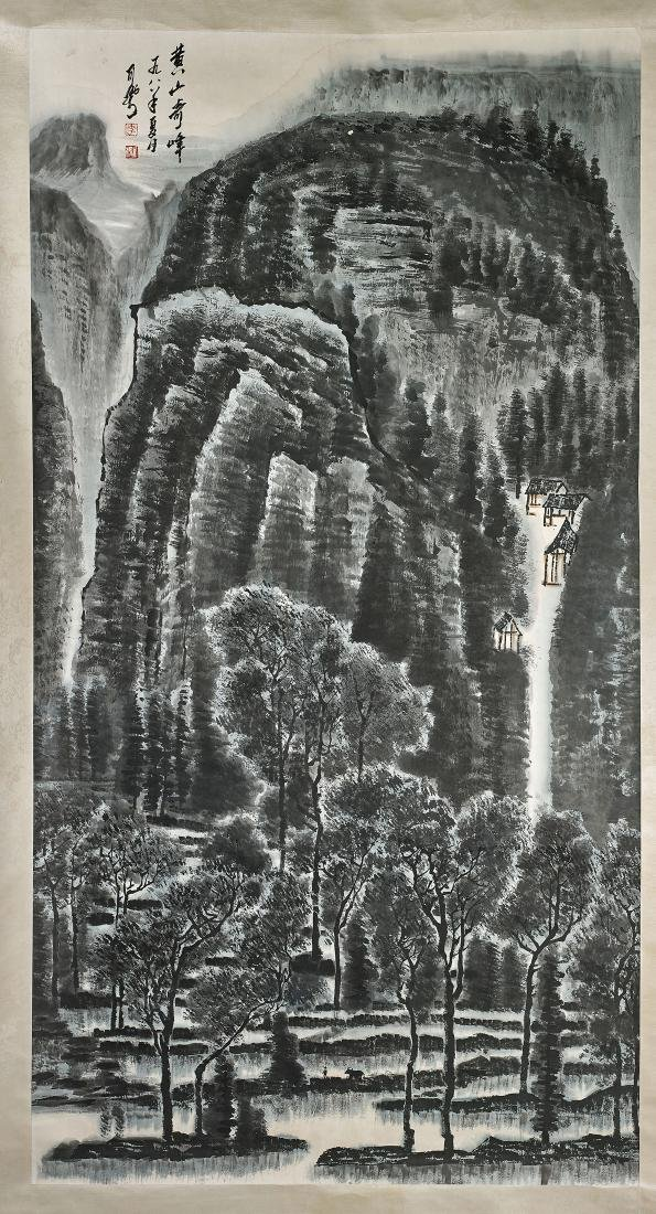 Chinese Paper Scroll After Li Keran