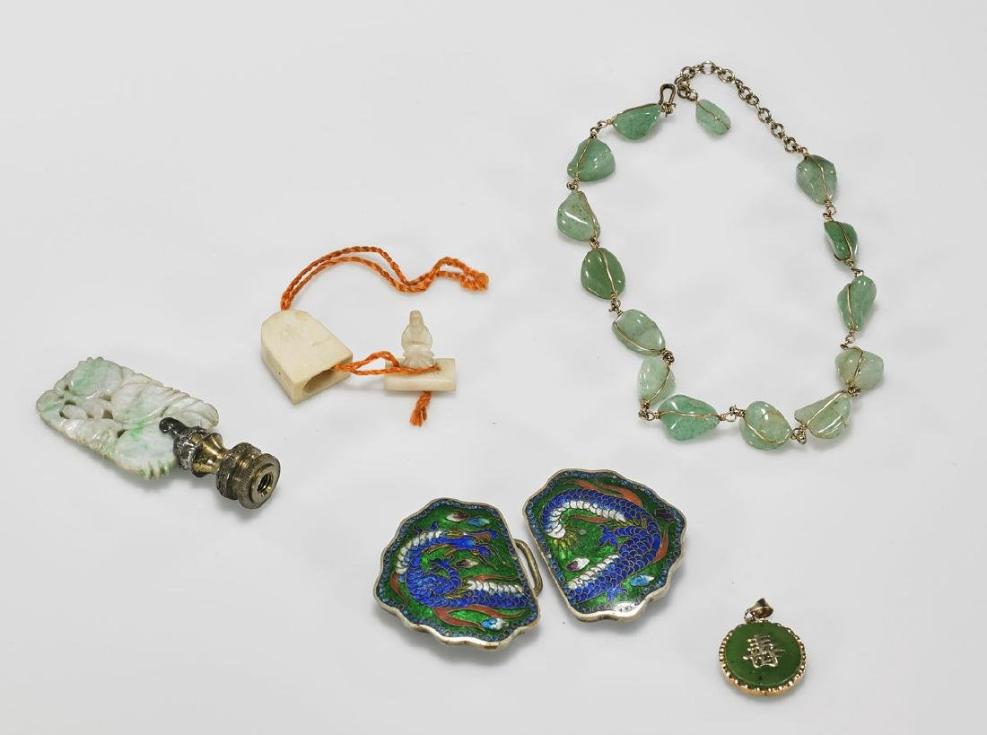 Group of Six Various Chinese Pieces