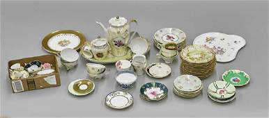 Large Collection of Continental Porcelain Tableware
