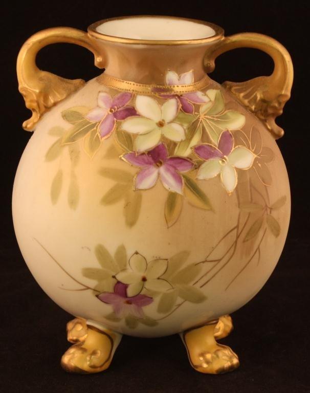 NIPPON Double Handle Floral Vase