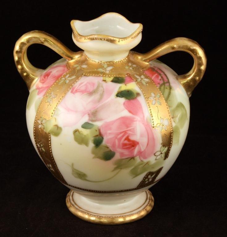 NIPPON Double Handle Cabinet Vase