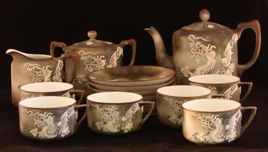 NIPPON Moriage Tea Set