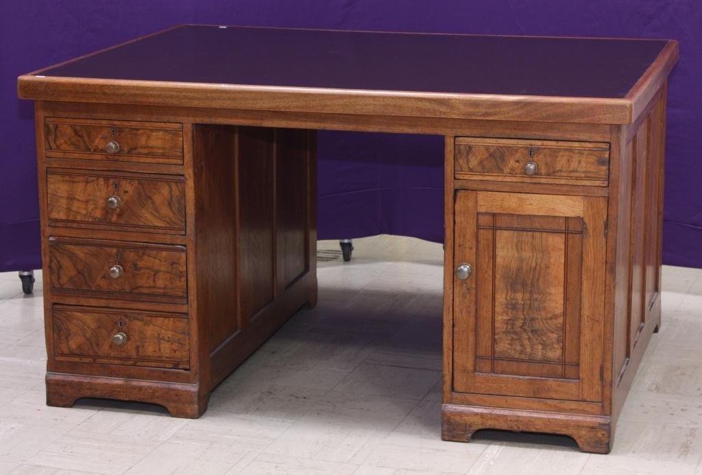6: Oak Partner's Desk