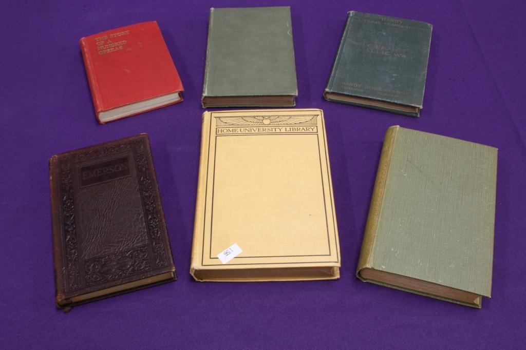 10D: Small Rare Books (6)