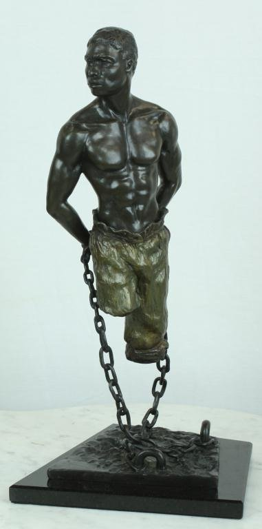 "2: ""My Body But Not My Soul"" Fine Bronze"