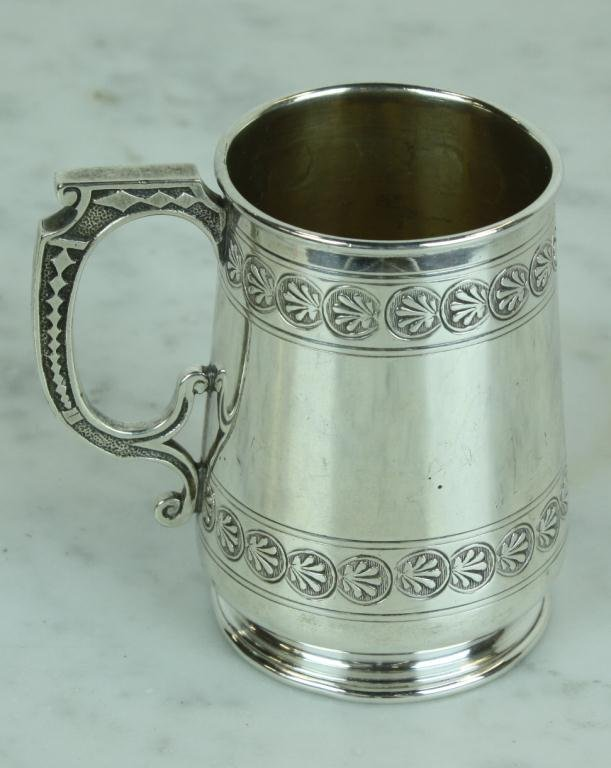 8: Early Coin Silver Cup