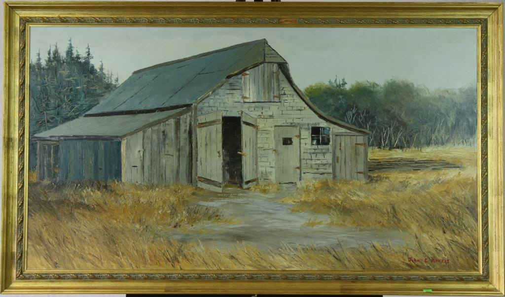 "17: ""This Old Barn 1880"" By John E. Harris"