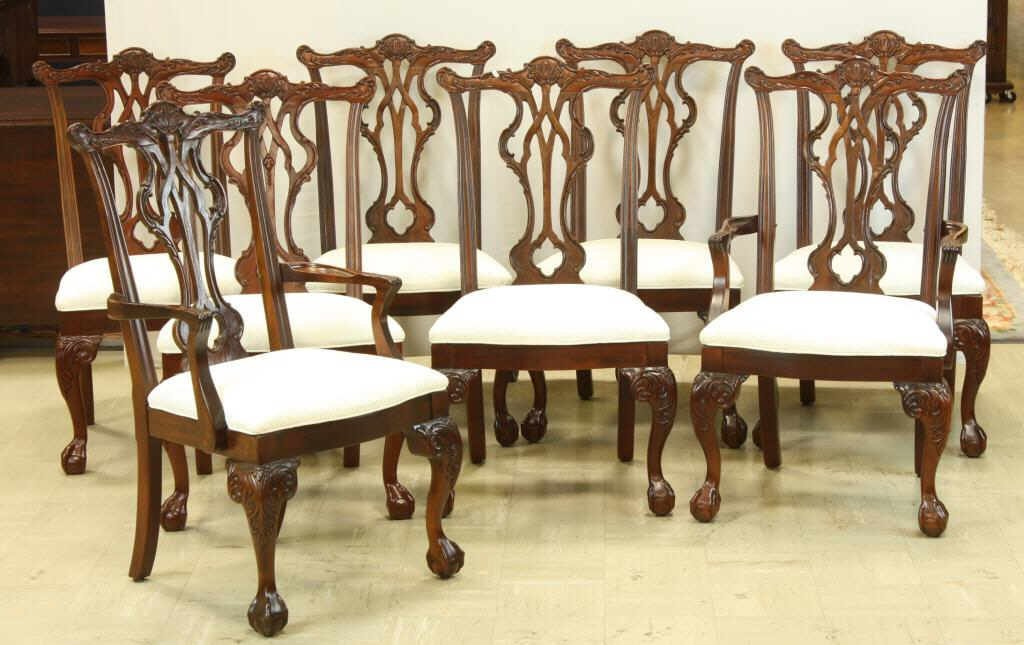 78: THOMASVILLE Chippendale Style Dining Chairs