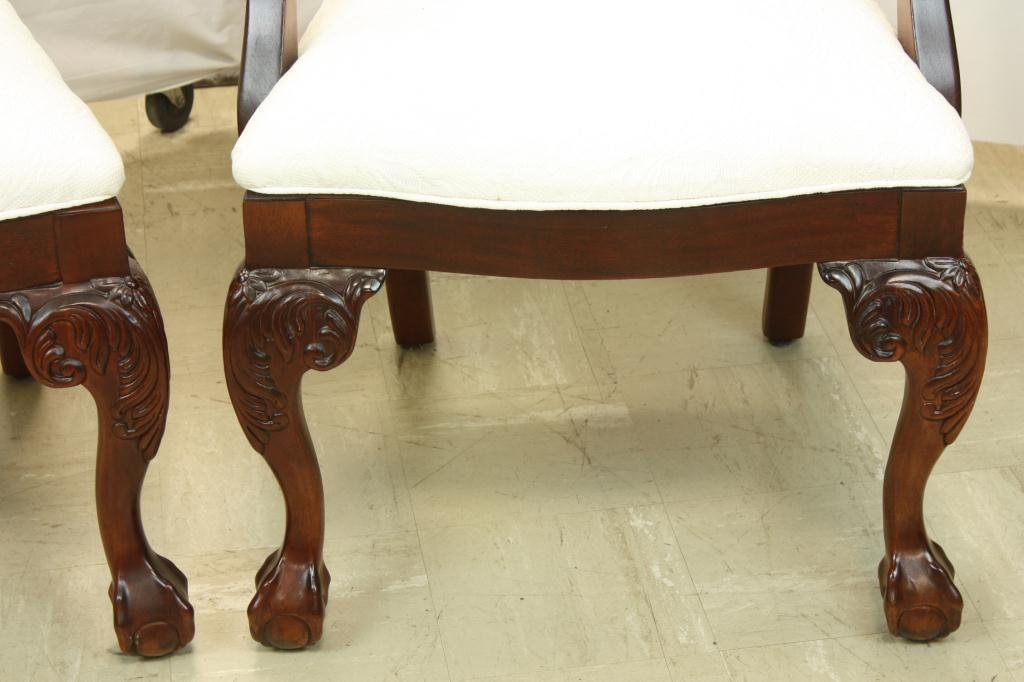 78: THOMASVILLE Chippendale Style Dining Chairs - 3