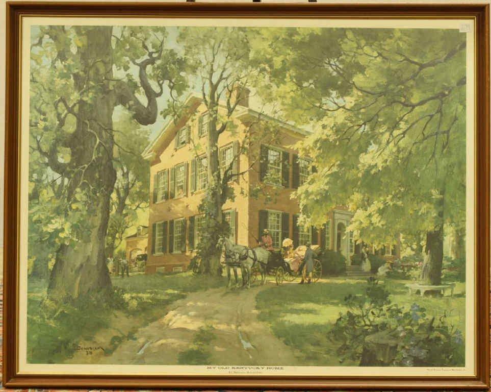 "202: ""My Old Kentucky Home"" by Haddon Sundblom"