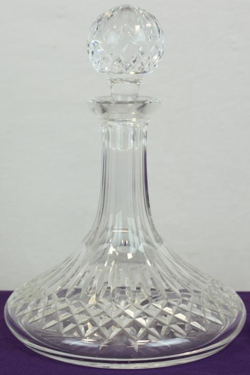 4: Crystal Decanter with Stopper