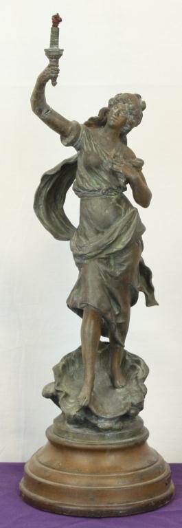 13: La Beaute by Aug. Moreau Sculpture