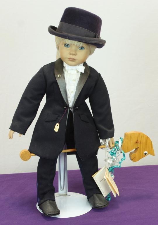 21: Petite Equestrian Doll (Roni)