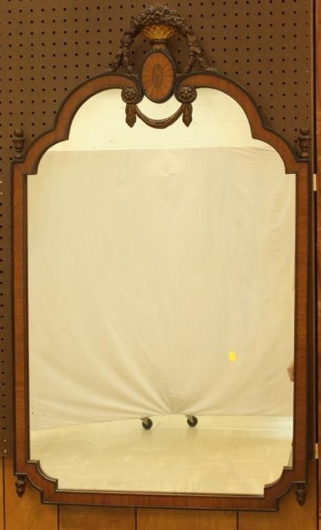 23: Provincial Inlaid Wall Mirror