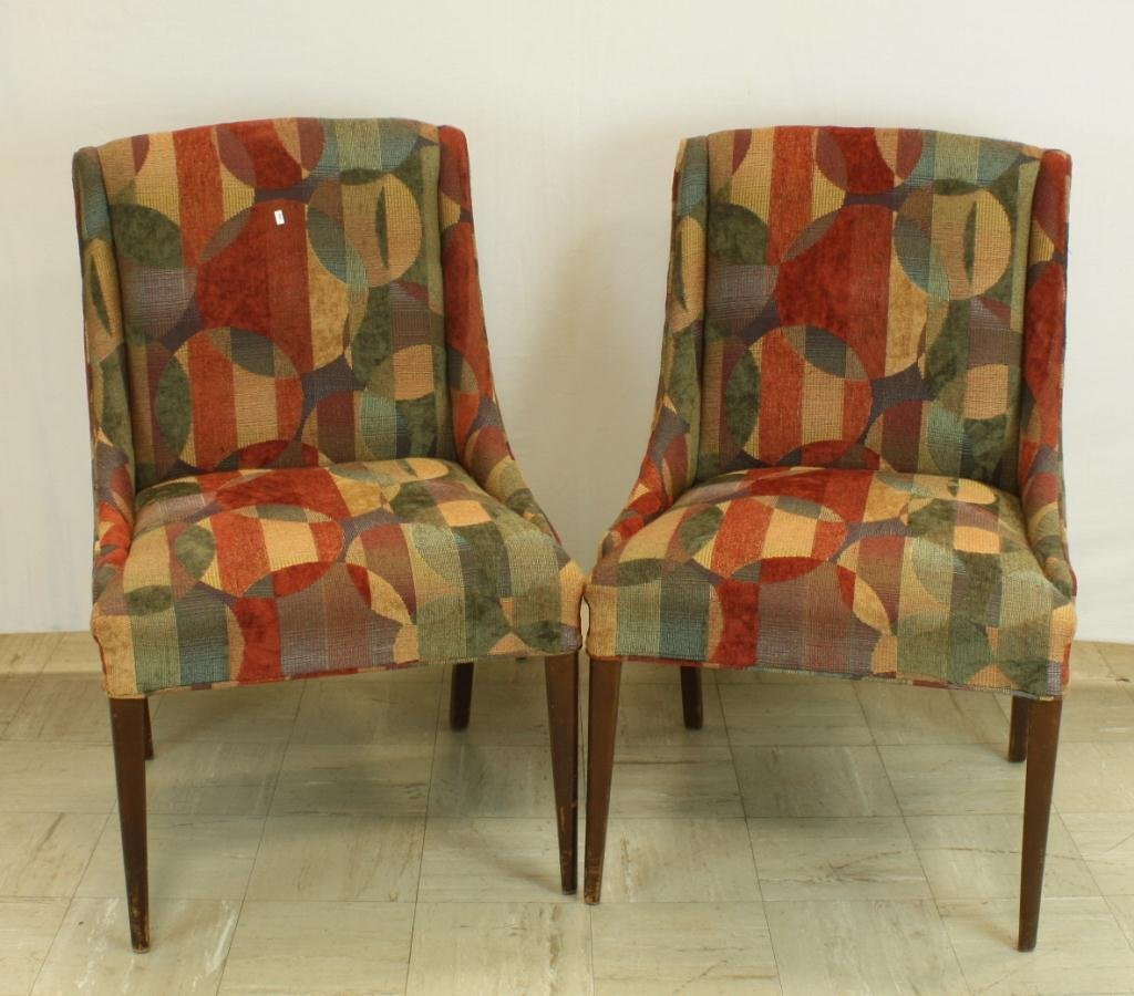 24: Mid Century Modern Side Chairs