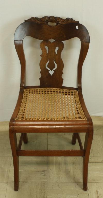 26: Cane Seat Victorian Chair