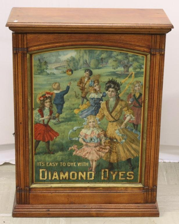 DIAMOND DYES Counter Display