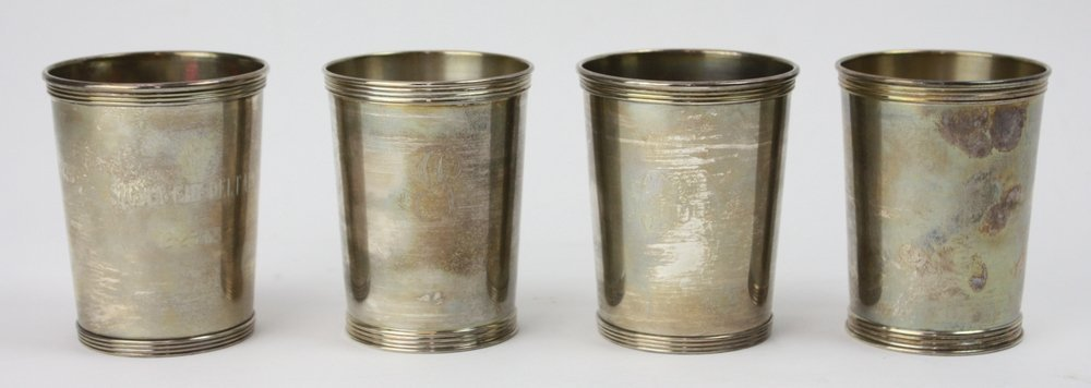 Sterling Mint Julep Cups (4)