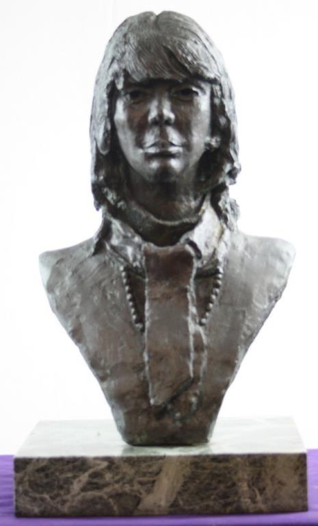 Bronze Female Bust