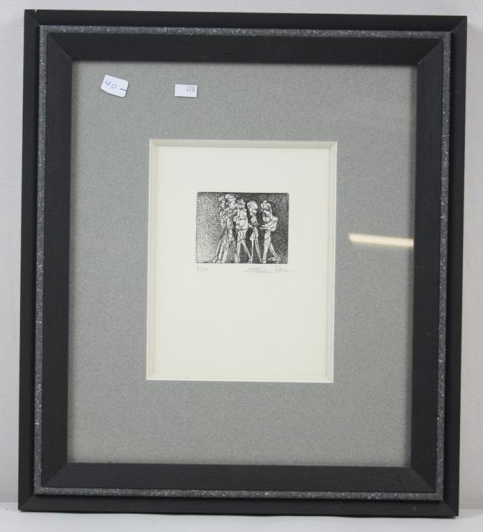 The Group, Lithograph Paper