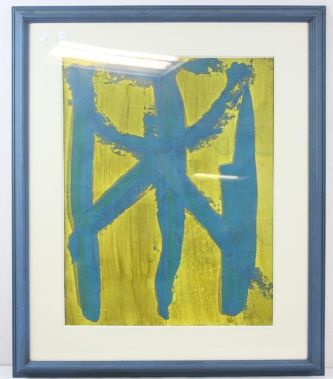 Anoitecer, Oil On Paper