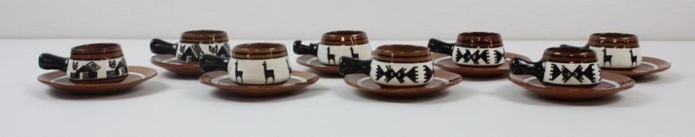 Red Clay Pottery Tea Set