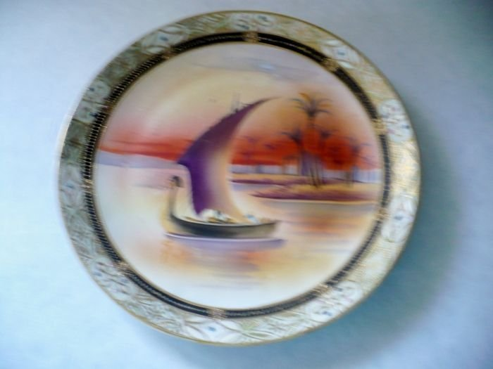 Plaque, Egytian Boat Scene - 2