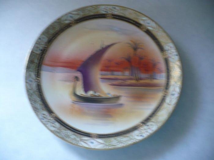 Plaque, Egytian Boat Scene - 3