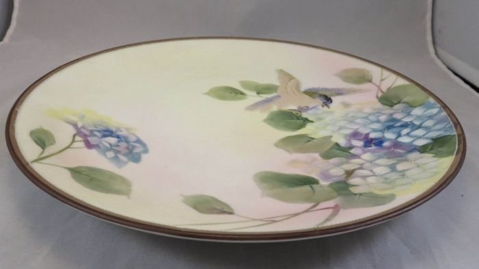 Antique Nippon Hanging Plaque with a Bird - 5