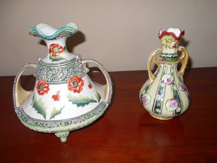 Two Moriage Vases