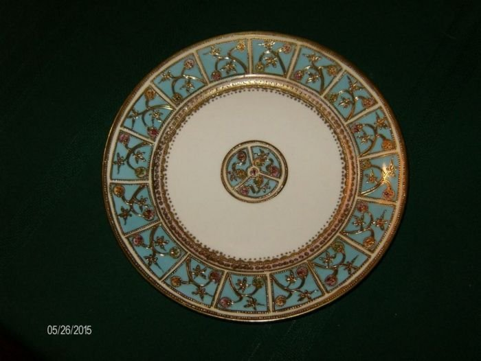 8 1/2 inch diameter plate